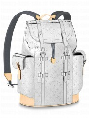 Louis Vuitton Christopher PM Backpack M58756 Silver