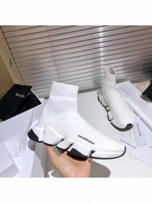 Balenciaga Unisex Speed 2.0 Knit Sock Sneakers 027 2021 Collection