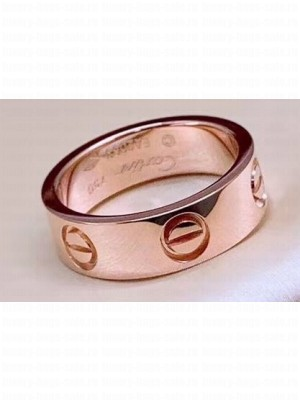 Cartier Love Ring Pink Gold