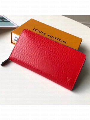 Louis Vuitton Zippy Epi Leather Wallet M62304 Red 2019 Collection