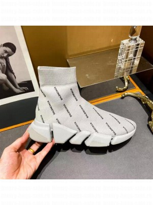 Balenciaga Unisex Speed 2.0 Knit Sock Sneakers 045 2021 Collection