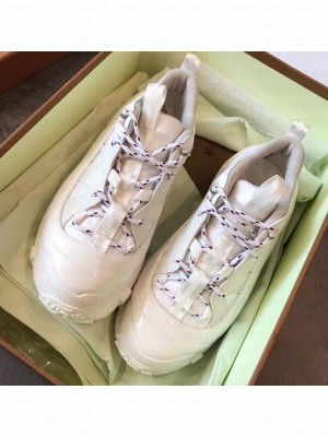 Burberry Nylon and Suede Arthur Sneakers White 2020