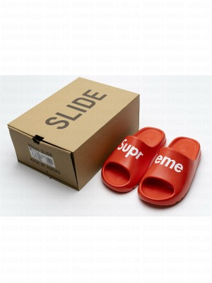 SUP x Adidas Yeezy Slide FH6346-9 Red 2020 Collection