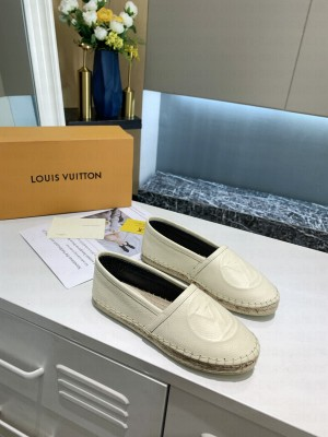 Louis Vuitton 1A86QR STARBOARD FLAT ESPADRILLE WHITE 2021 Collection