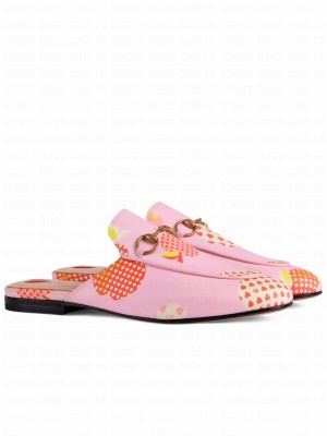 Gucci Women's Princetown Slippers Pink