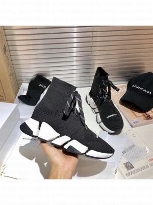 Balenciaga Unisex Speed 2.0 Knit Sock Sneakers 022 2021 Collection