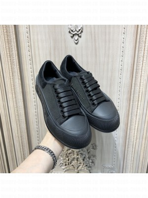 Alexander McQueen Unisex Deck Lace Up Plimsoll 312021 Collection