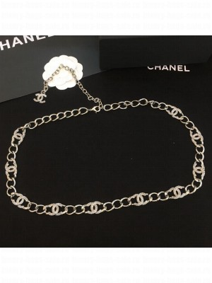 Chanel CC Chain Belt Silver  2021 Collection