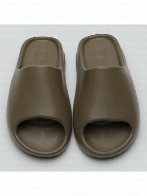 """Kanye West x Adidas Yeezy Slide """"Earth Brown"""" FV8425  2020 Collection"""