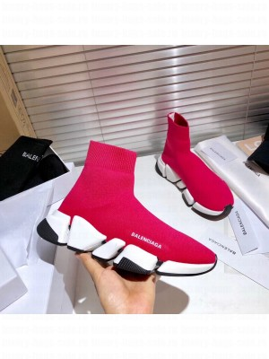 Balenciaga Unisex Speed 2.0 Knit Sock Sneakers 033 2021 Collection