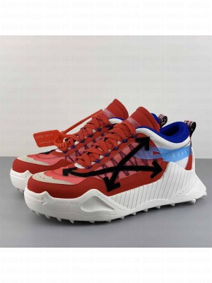 Off-White ODSY-1000 Sneakers in Red/Blue 2020 Collection
