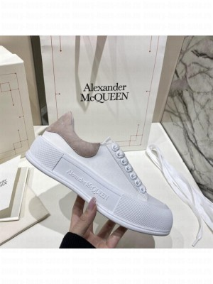 Alexander McQueen Deck Lace Up Plimsoll 012021 Collection