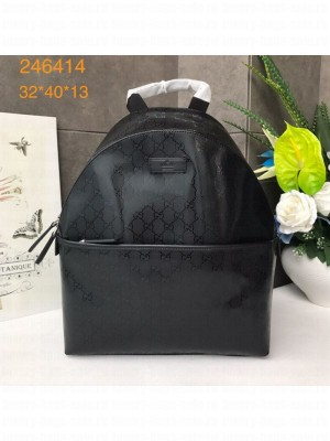 Gucci GG Fabric Backpack 246414 Black 2019 Collection