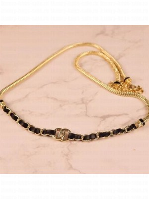 Chanel Chain Belt AB6145 Black/Gold  2021 Collection