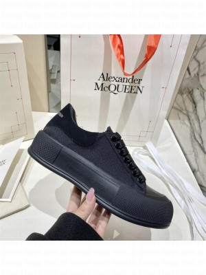 Alexander McQueen Deck Lace Up Plimsoll 012 2021 Collection
