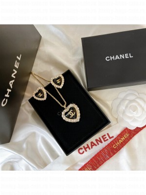 Chanel Earrings & Necklace AB0172 2021