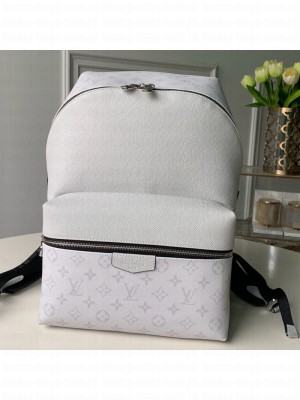 Louis Vuitton Discovery Monogram Leather Backpack PM M30232 White 2019 Collection