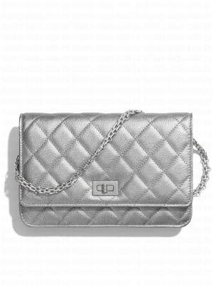 Chanel 2.55 Wallet On Chain A70328 Black