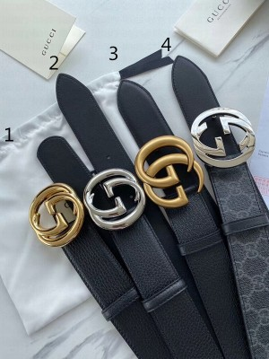 Gucci Belt 40mm with GG Buckle 2020 (4 Colors) Collection