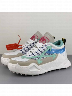 Off-White ODSY-1000 Sneakers in Green/Blue 2020 Collection