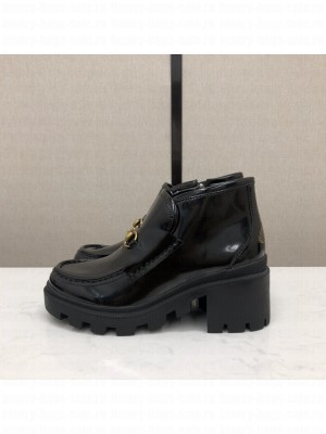 Gucci Women's ankle boot with Horsebit 2021 Collection 04