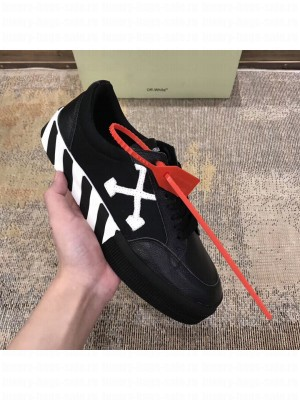 Off-White Low Top Stripe Sneakers in Black 2020 Collection
