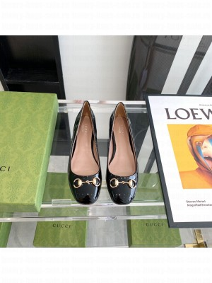 Gucci ballet flat with Horsebit Black 2021 Collection
