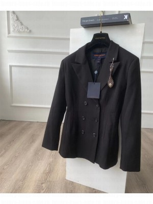 Louis Vuitton                                                                                        CINCHED DOUBLE-BREASTED JACKET