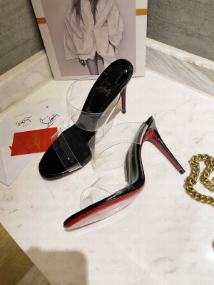 Christian Louboutin Just Nothing 10 mm Mule Black 2021 Collection