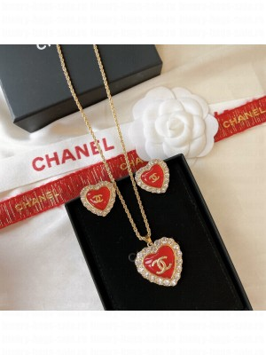Chanel Earrings and Necklace AB0170 2021