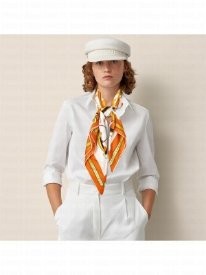 Hermes Scarf in cashmere and silk 90 x 90cm 2021 H039