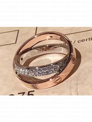 Cartier Love Double Ring
