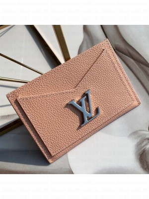Louis Vuitton Lockme Card Holder M68610 Nude 2019 Collection