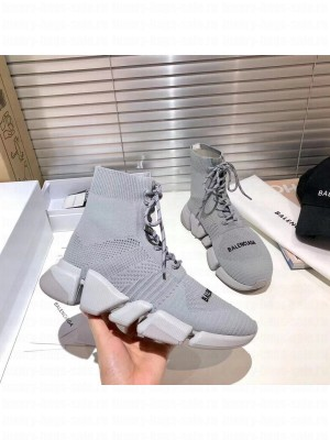 Balenciaga Unisex Speed 2.0 Knit Sock Sneakers 038 2021 Collection