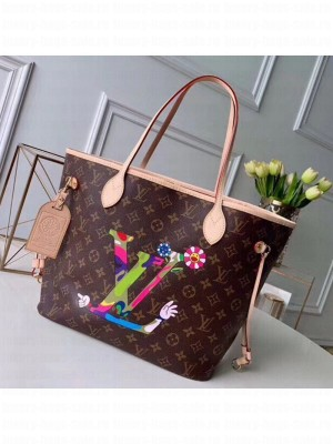 Louis Vuitton Neverfull MM Monogram Canvas Printed LV Tote Bag M50710 2019 Collection