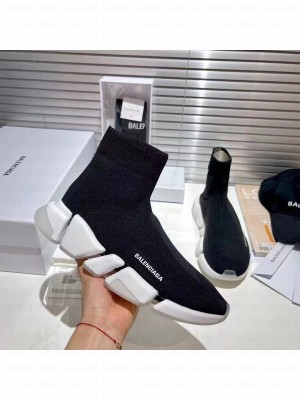 Balenciaga Unisex Speed 2.0 Knit Sock Sneakers 042 2021 Collection