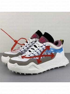 Off-White ODSY-1000 Sneakers in Grey/Blue 2020 Collection