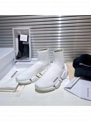 Balenciaga Unisex Speed 2.0 Knit Sock Sneakers 0402021 Collection