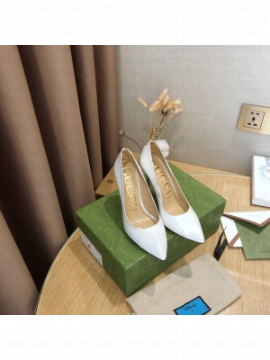 Gucci Patent leather 10.5cm White Pumps 2021 Collection