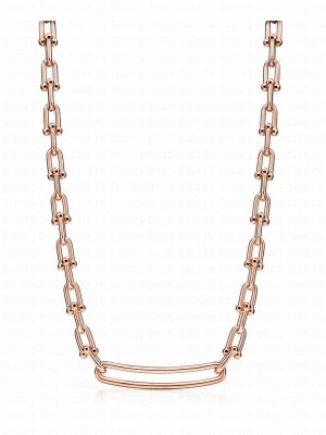 Tiffany Link Necklace Red