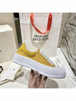Alexander McQueen Deck Lace Up Plimsoll 0132021 Collection