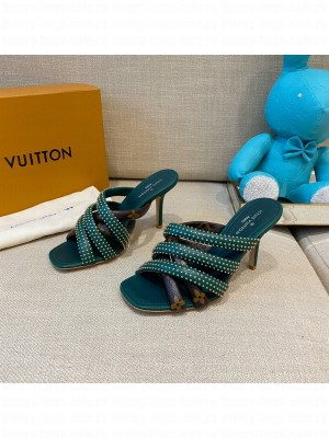 Louis Vuitton  Appeal mule Green 2021 Collection