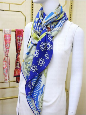 Hermes Shawl in cashmere and silk 140 x 140cm 2021 H049