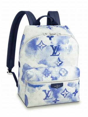 Louis Vuitton Discovery Backpack M45760 Blue