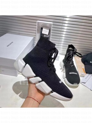 Balenciaga Unisex Speed 2.0 Knit Sock Sneakers 039 2021 Collection