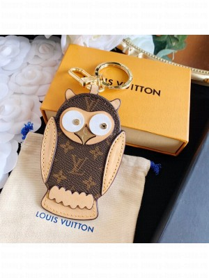 Louis Vuitton OWL BAG CHARM AND KEY HOLDER M69482