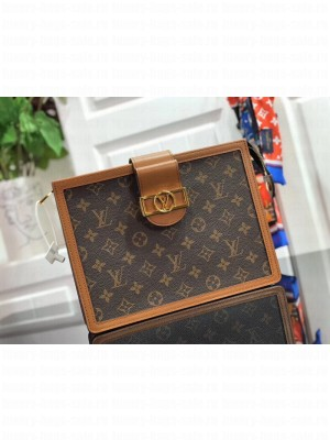 Louis Vuitton Dauphine Monogram Canvas Pouch M44178 Coffee 2019 Collection
