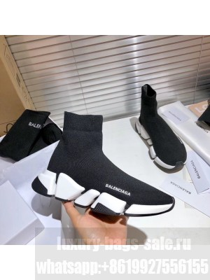 Balenciaga Unisex Speed 2.0 Knit Sock Sneakers 025 2021 Collection