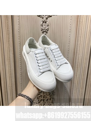 Alexander McQueen Unisex Deck Lace Up Plimsoll 242021 Collection