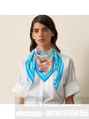 Hermes Scarf in cashmere and silk 90 x 90cm 2021 H042